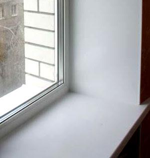 Монтаж откосов на окна пвх